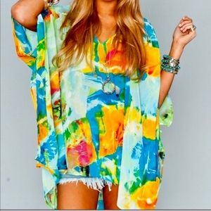 Show Me Your MuMu Peta Tunic Tropical Reef Size M